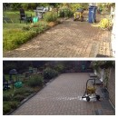 Driveway and Block Paving Cleaning in Quy