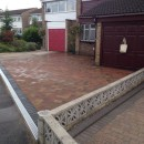 Another Driveway Completed In Royston